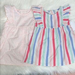 NWT Bundle of 2 Baby Girl 6-9M Summer Dresses
